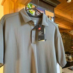 Under armor men's golf shirt